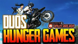 !omlet HUNGER GAMES - ALL MAPS DUOS 4000 TOKENS! - PUBG MOBILE