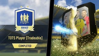 FIFA 17 - ARE THE GUARANTEED TOTS SBCS WORTH IT?! *WALKOUT* PACKED!😱🔥