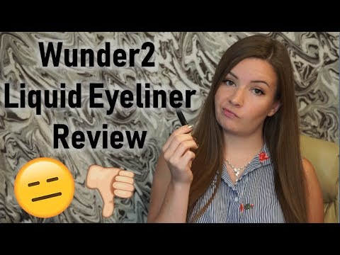 Wunder2 Super-Stay Liquid Eyeliner Review