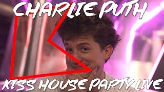 Charlie Puth Talks Liam Payne, Shawn Mendes & More! | KISS House Party Live