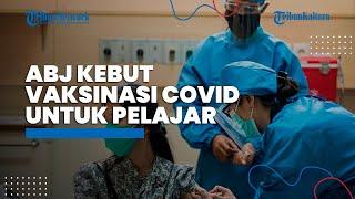 Relawan Arus Bawah Jokowi bersama DPC PDI-P Jakpus Kebut Vaksinasi Covid-19, Kali Ini Sasar Pelajar
