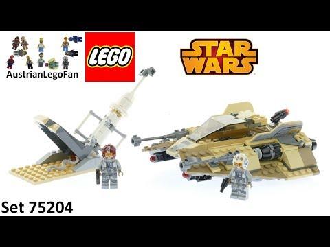 Vidéo LEGO Star Wars 75204 : Speeder des sables