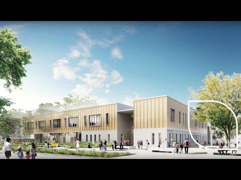 Visite de l'École Katherine Johnson – 30 août 2021