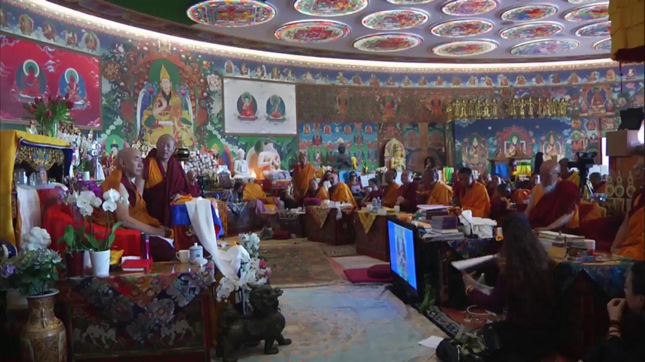 Lam Rim transmission with Lama Nyitrul Tulku Rinpoche  - part 3