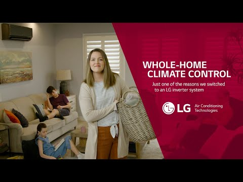 Whole-home Climate Control with LG Inverter