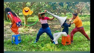 Top New Comedy Video 2019   Try To Not Laugh   Episode-37   By Fun ki vines