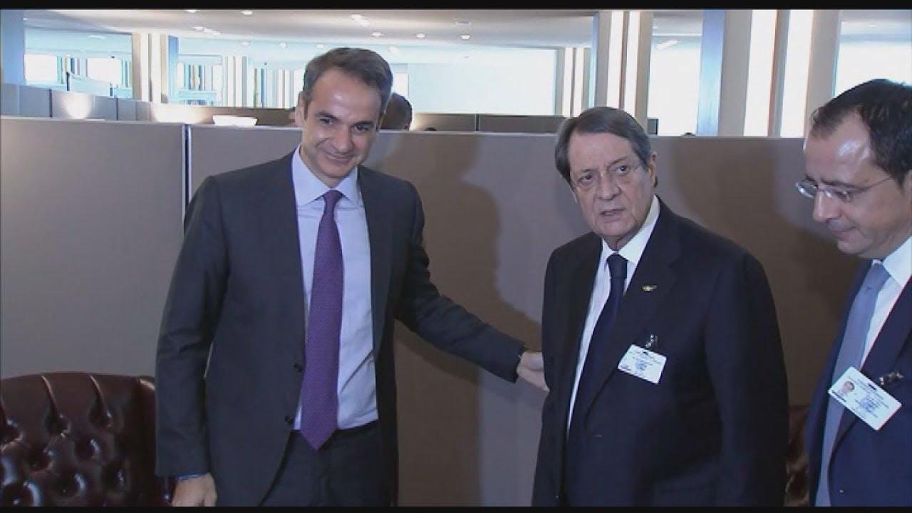 Συνάντηση του Πρωθυπουργού Κυριάκου Μητσοτάκη με τον Νίκο Αναστασιάδη