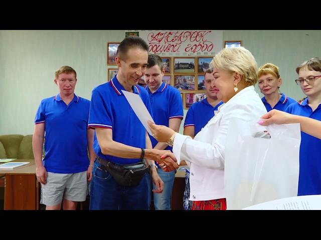 Команду инвалидов из Ангарска пригласили на КВН