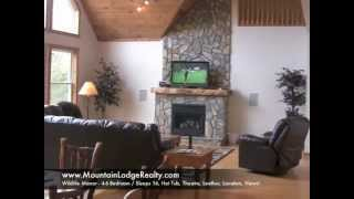 Mountain Lodge Realty -- Wildlife Manor - Boone, NC, Hot Tub, Theatre, Views