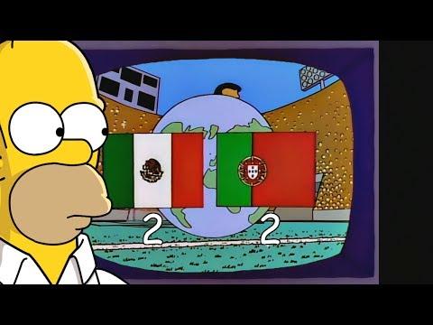 ¿Los Simpsons Predijeron El Empate De 2 a 2 De Mexico vs Portugal En La Copa Confederaciones?