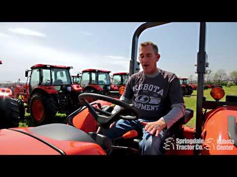 Kubota Grand L Tractor Automatic Regeneration - смотреть