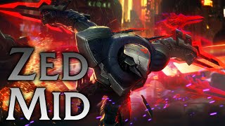 League of PBE | Project: Zed Mid - Full Game Commentary