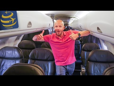 American Airlines First Class Embraer 175 ORD-YYZ | Luxury Aviator