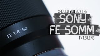 Sony FE 50mm f/1.8 | Is it a good lens for video?