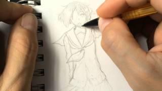 Manga Chasers Pencil Drawings 003
