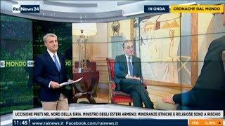 ՀՀ ԱԳ նախարար Զոհրաբ Մնացականյանի հարցազրույցը Rai 24 լրատվականին