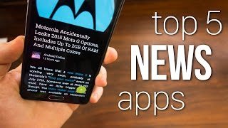Top 5 News Reader Apps!