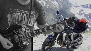 Born 2B Wild - Krokus Version - ; Guitar Cover feat. Z 1000