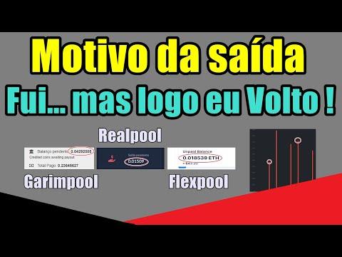 Motivo da Saída - Garimpool e Realpool, Temporário