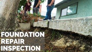 Slab Foundation Repair Inspection in Oceanside, CA - Dalinghaus Construction, Inc