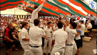 preview picture of video 'Freies Fanfarenkorps Alt-Laatzen e.V. 1991 beim Schützenfest in Hoheneggelsen 2013'