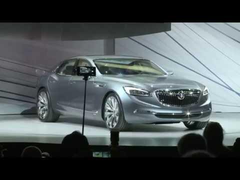 Presentación del Buick Avenir Concept
