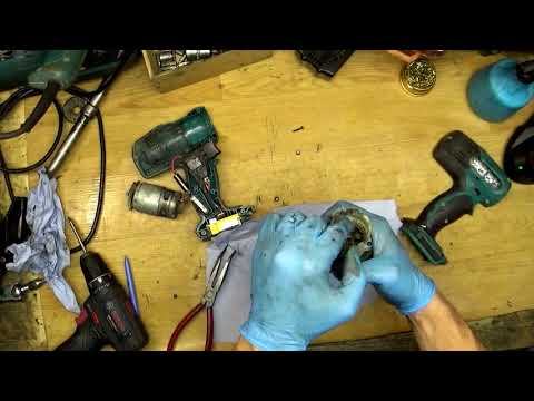 #11 Th video! Repairing tool number 11. Makita BHP453 housing changing. 200 Euros total profit