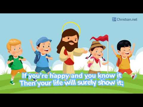 If You're Happy And You Know It | Christian Songs For Kids