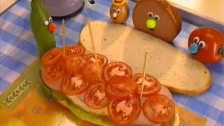 Обложка на видео о Вкусный бутерброд. Вкусные истории.
