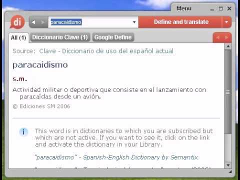 Definición de paracaidismo
