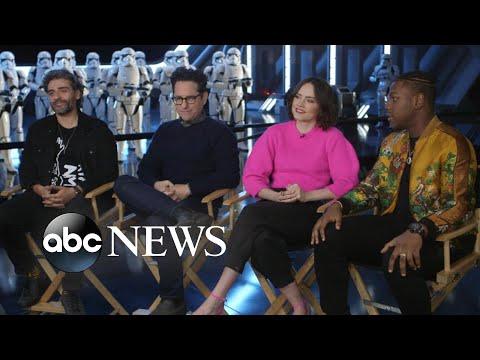'Star Wars' stars talk about ending the legendary saga, 'deep love' between co-stars   Nightline