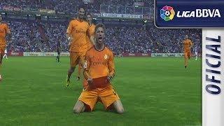 Sergio Ramos' amazing free-kick goal against Valladolid