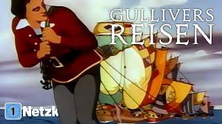 Gullivers Reisen (ZEICHENTRICKFILM ganzer Film Deutsch, Zeichentrickfilme für die ganze Familie)