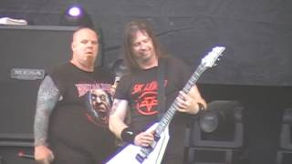 EXODUS - PIRANHA & NO LOVE (LIVE AT HELLFEST 20/6/10)
