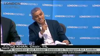 Khan Uses Every Trick In The Book To Avoid Answering ULEZ & Road Pricing Questions