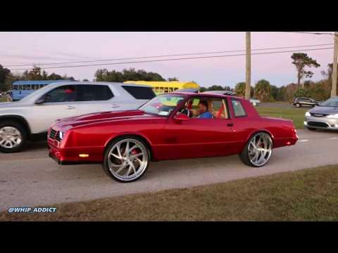 "WhipAddict: GEEKED LS Chevy Monte Carlo SS on 24"" Cor Wheels, Track Run"