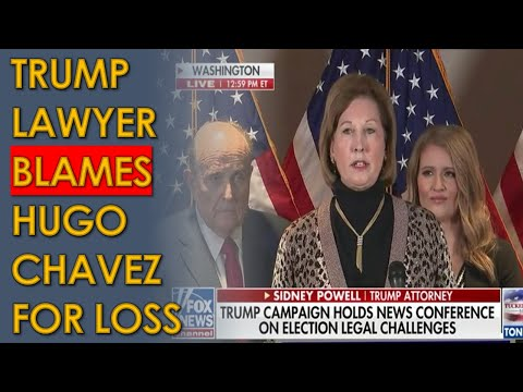 Sidney Powell and Rudy Giuliani Blame Hugo Chavez and George Soros for Trump Losing Election