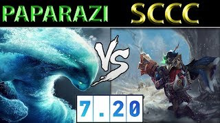 张成俊 Paparazi [Morphling] vs 宋淳 Sccc [Sniper] ► Dota 2 7.20