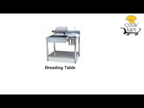 Chicken Breading Table
