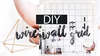 DIY - Wire Wall Grid | LLimWalker