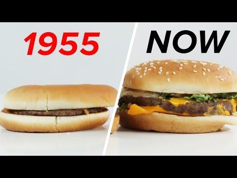 McDonald's: 1955 Vs. Now