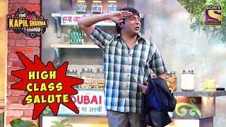 Chandu's High Class Salute - The Kapil Sharma Show