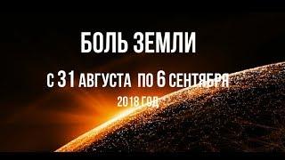 Катаклизмы за неделю с 31 августа по 6 сентября 2018 года