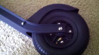 Razor A5 Air Scooter: Inflating Tires