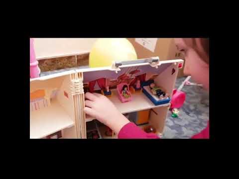 Playmobil casa delle bambole portatile/portable dollhouse
