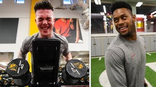 NFL WORKOUT Challenge with FaZe JuJu, Adapt, Temperrr