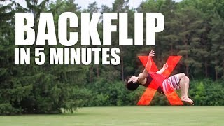 Can You Actually Learn The Backflip In 5 Minutes?