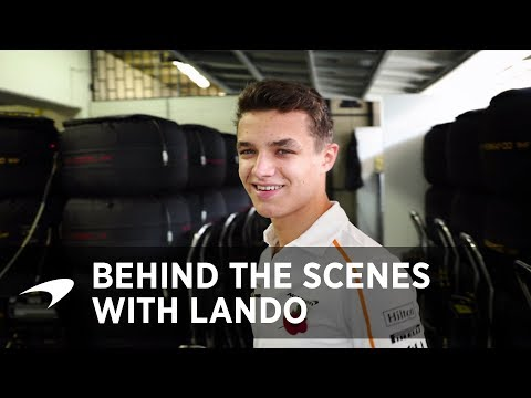 Behind the scenes with Lando | Garage Tour