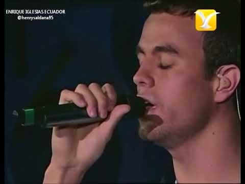 Enrique Iglesias - No Llores Por Mi (en vivo)