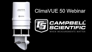 introducing the climavue™50: a webinar